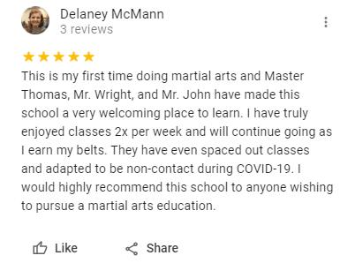 1, American Freestyle Karate Salem, VA